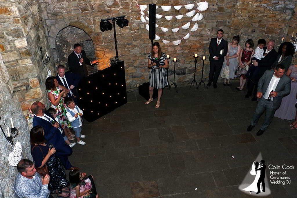 Crook Hall Wedding DJ, Master of Ceremonies and Wedding Monogram, Durham