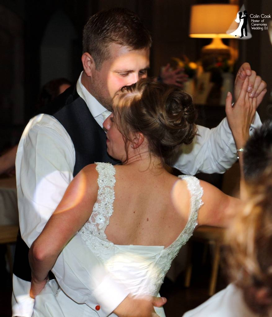 Ellingham Hall Wedding DJ. The perfect First Dance is a combination of a great couple, great guests and a great DJ