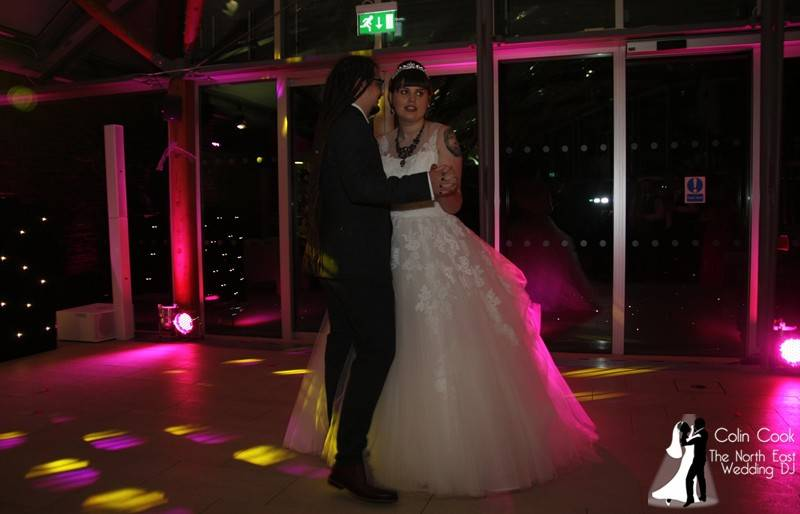 Emma & Simon's Awesome Alternative Wedding Disco at Alnwick Garden