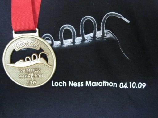 Medal & T-shirt 2009