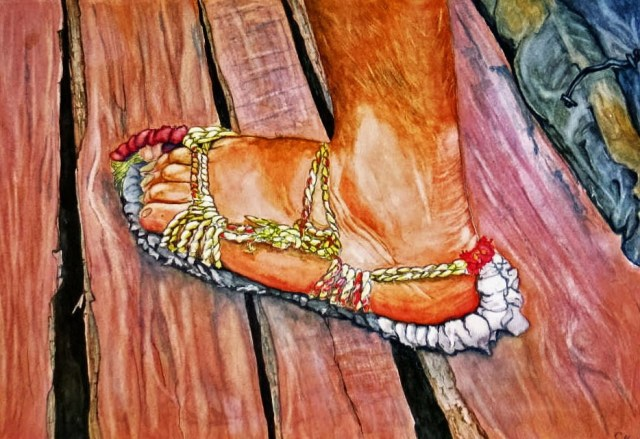 Chinese Sandal