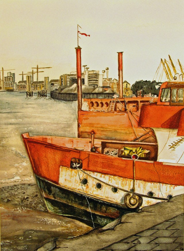 Red Boat (Thames Path series)