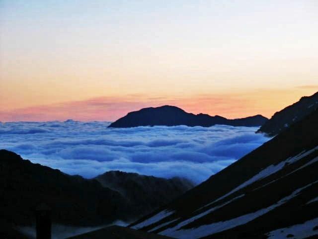 Dawn at 8,000 ft., Atlas Mountains (photograph)