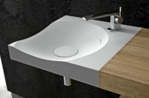 corian bathroom sink