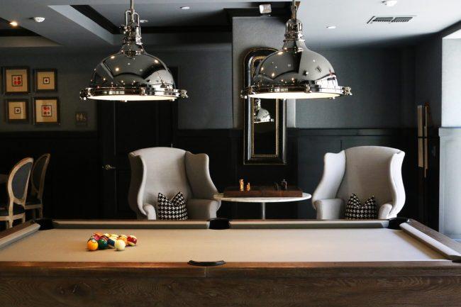 Custom Made Pool Table For House