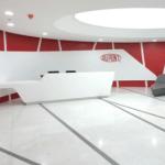 Dupont Corian Reception area