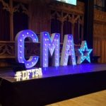 CMA Live 2017 Stage Set Up #DFTBA