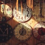 Time Clocks Antique