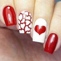 50+ Cute Valentines Day Nail Art Design As A Lovely ...