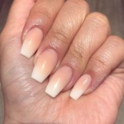 easy and glamorous ombre nail