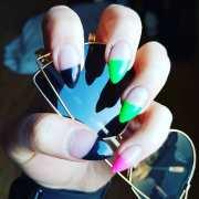 stiletto nail art ideas