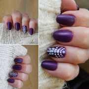 polka dots nail art ideas