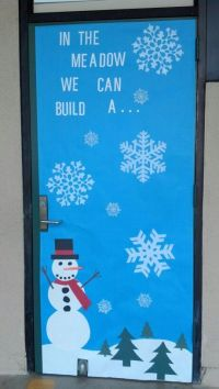 20+ Beautiful Classroom Christmas Door Decoration Ideas ...