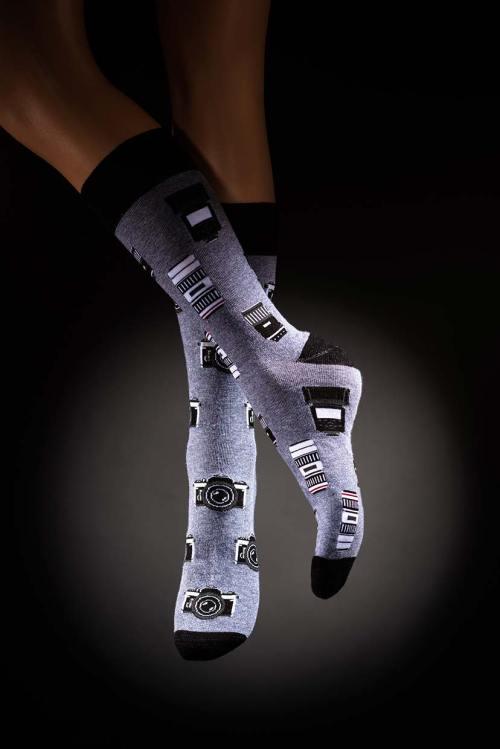 Veselé pánské ponožky foto Paparazzi
