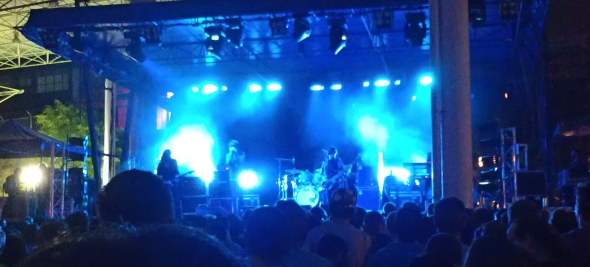 The Horrors - Laneway Festival, Brisbane 2012