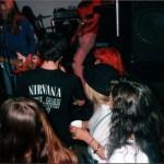 Nirvana at Blue Gallery, Portland 1989