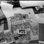 Calamity Jane - Martha Jane Cannary - album cover layout