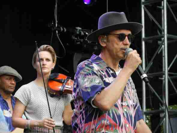 Dexys in Brisbane 2012 (Lucy, Kevin)