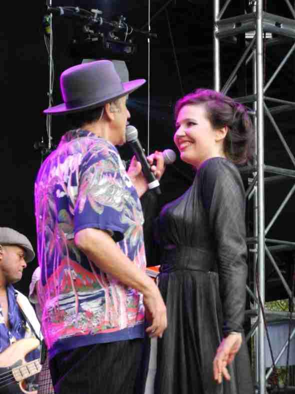 Dexys in Brisbane 2012 (Kevin, Maddy)