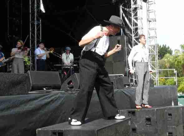 Dexys in Brisbane 2012 (Kevin, Pete)