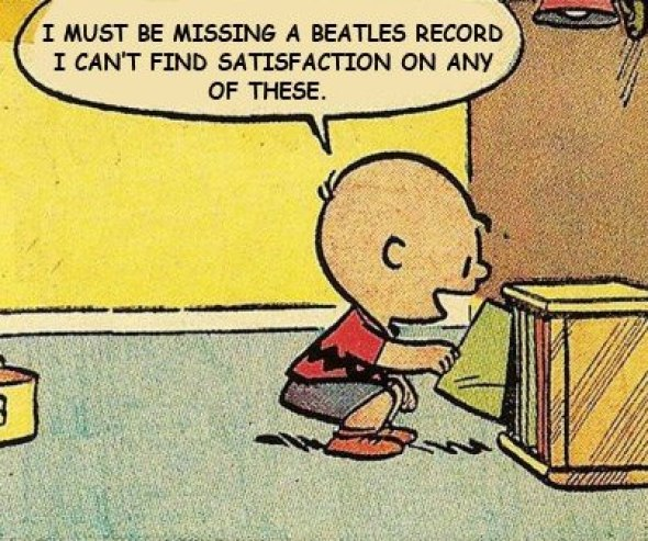 Charlie Brown beatles