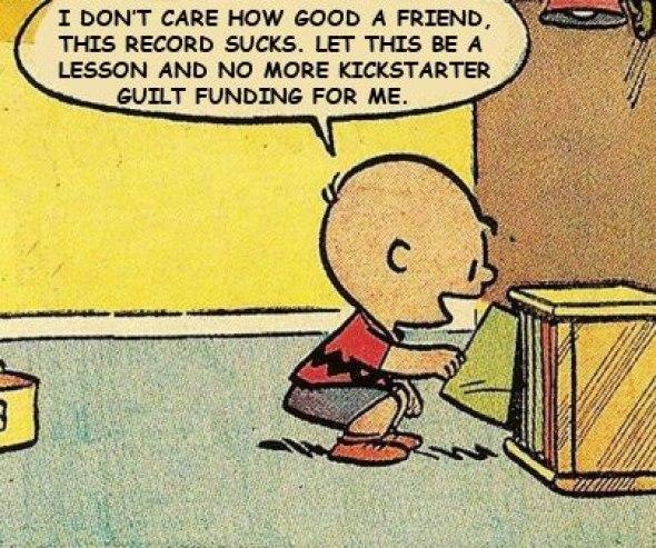 Charlie Brown kickstarter