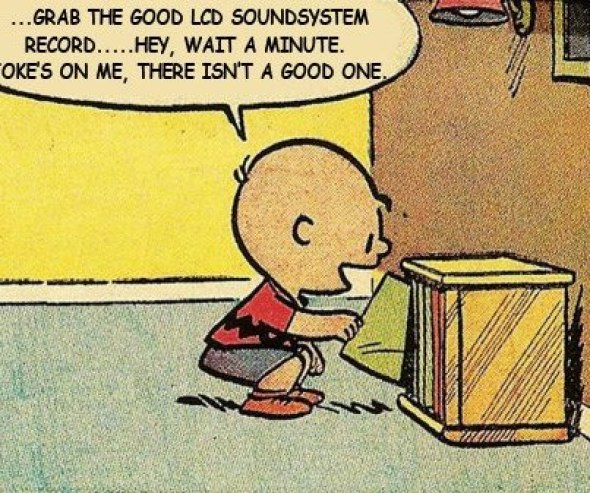 Charlie Brown lcd soundsystem