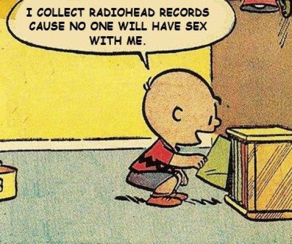 Charlie Brown radiohead
