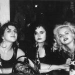 Marti, Courtney, Ursula, Robin - Napalm Beach at Satyricon 1986