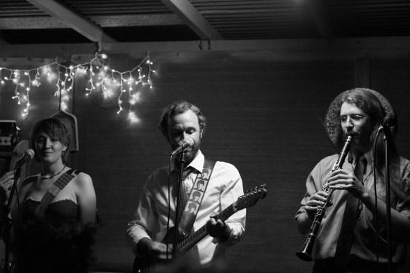 Amanda Palmer House Show - Ragtag Band