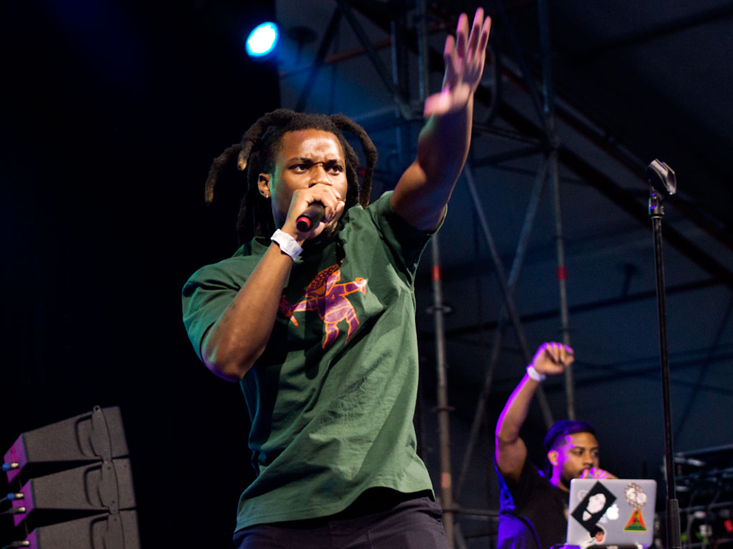 Denzel Curry @ Laneway Festival, RNA Showgrounds, Brisbane, Saturday 2 February 2019