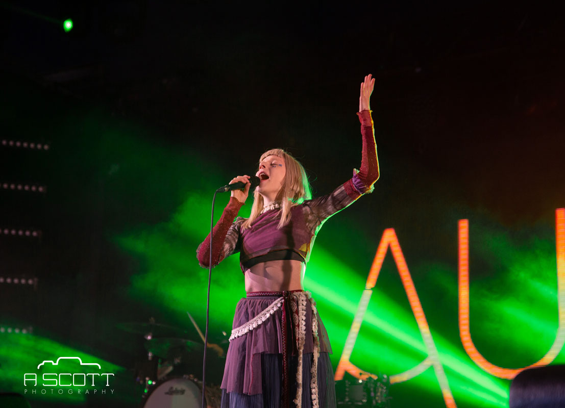 Aurora @ Groovin The Moo, Maitland Showgrounds, Saturday 27 April 2019