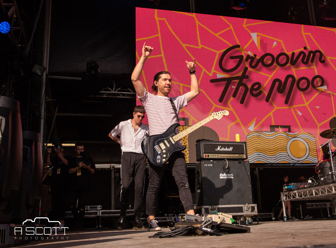Trophy Eyes @ Groovin The Moo, Maitland Showgrounds, Saturday 27 April 2019