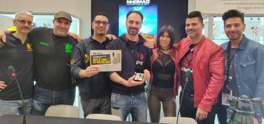 Award to Claudio Domeniconi from Mig Jimenez.