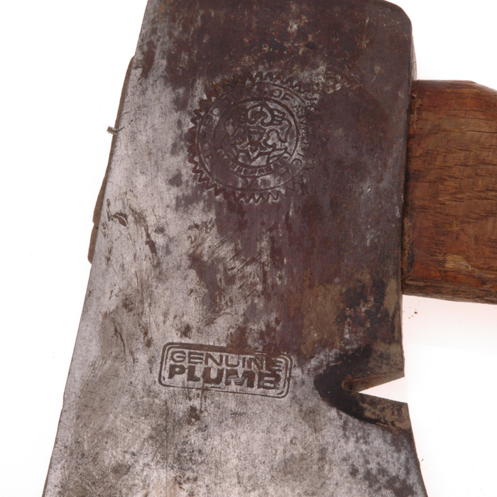 Sold 1940s Boy Scouts Of America Bsa Plumb Hatchet Axe And Sheath