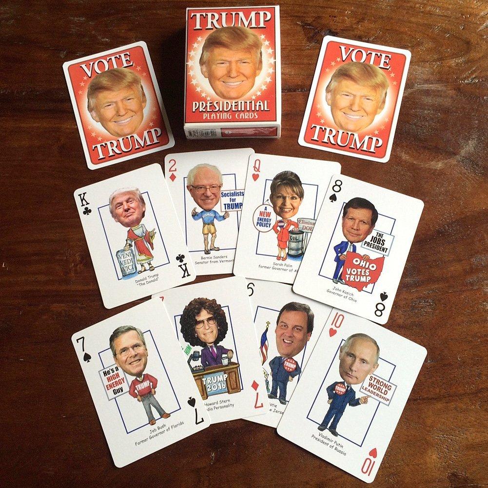 Buy Magic Tricks Trump Presidential Playing Cards