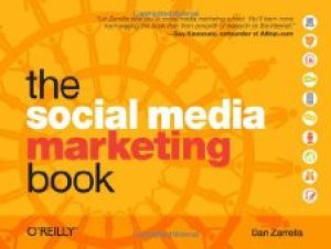 """Cover of """"The Social Media Marketing Book..."""