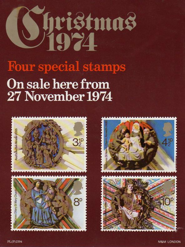 British Stamps For 1974 Collect GB Stamps