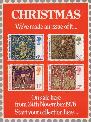 Christmas 1976 Collect GB Stamps