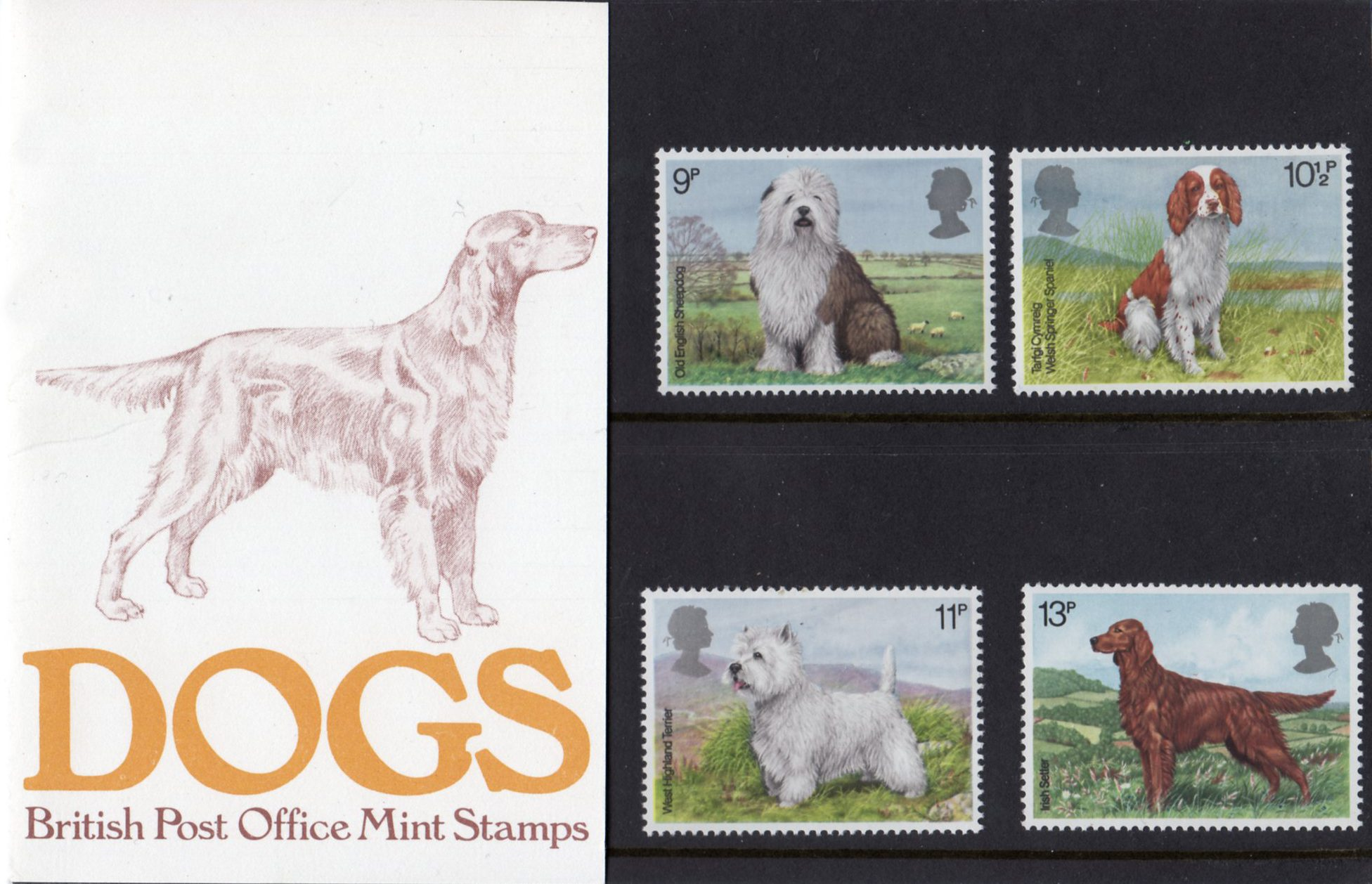 Dogs 1979 Collect GB Stamps