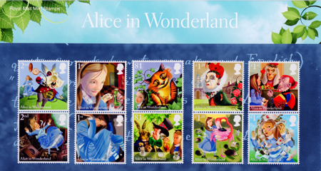 Alice In Wonderland 2015 Collect GB Stamps