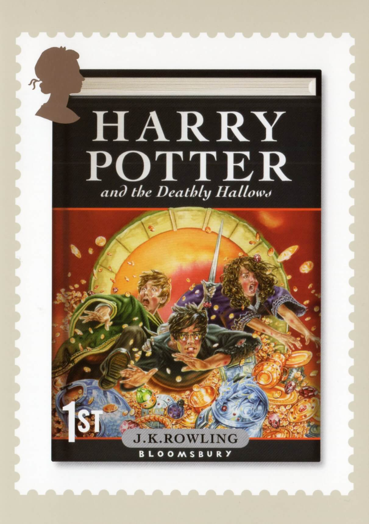 Harry Potter 2007  Collect GB Stamps