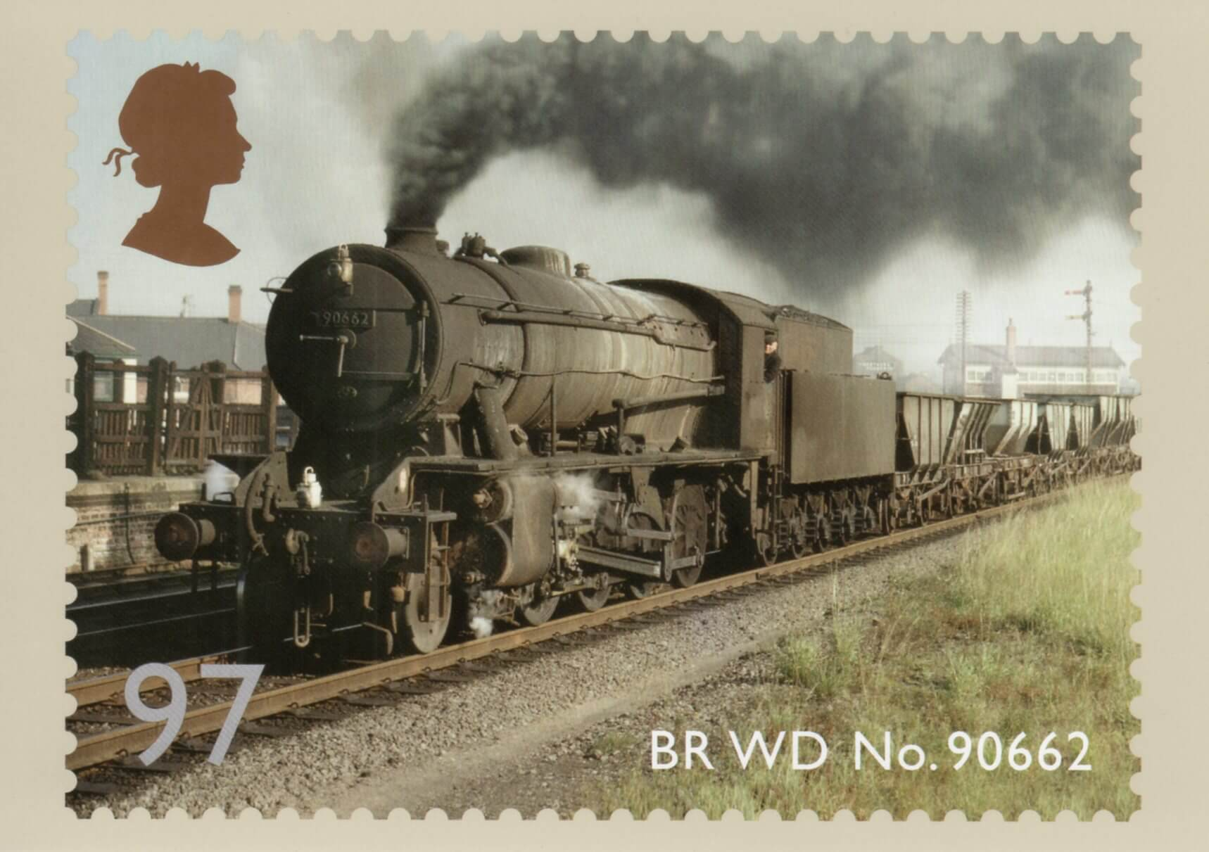 Classic Locomotives Of England 2011 Collect GB Stamps