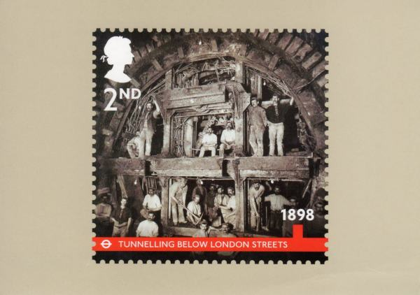 London Underground 2013 Collect Gb Stamps