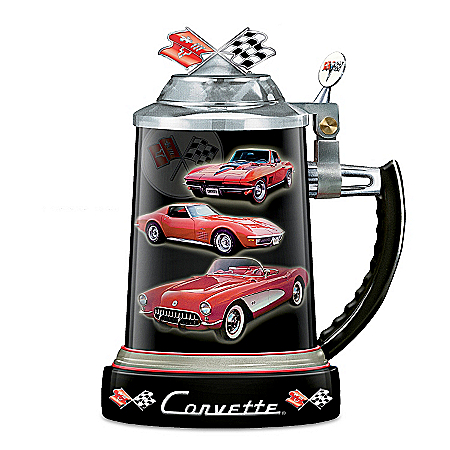 Chevy Corvette Collectible Stein