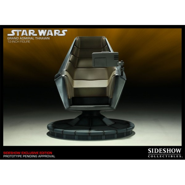 Star Wars Action Figure Grand Admiral Thrawn with Command