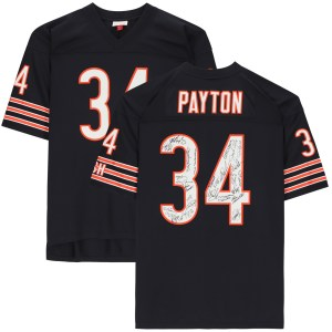 1985 Chicago Bears Team-Signed Autographed Navy Mitchell _And_ Ness Replica Jersey - 28 Signatures