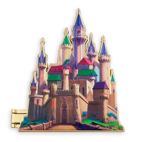Aurora Castle Pin Sleeping Beauty Disney Castle Collection Limited Release
