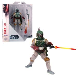 Boba Fett Collector's Edition Action Figure by Diamond Select Star Wars 7'' Official shopDisney
