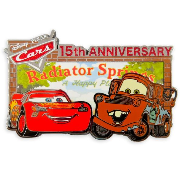 Cars 15th Anniversary Pin Limited Release Official shopDisney